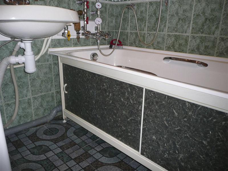 Каркасный экран под ванну